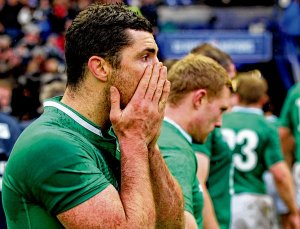 Ireland Rugby disappointment